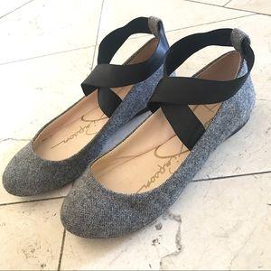 Jessica Simpson | Tweed Mandalaye Ballet Flats